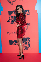 Nicole Scherzinger attends the MTV EMAs 2019 at FIBES Conference and Exhibition Centre on November 03, 2019 in Seville, Spain. Photo by ABACAPRESS.COM