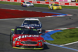 September 30, 2018 - Concord, North Carolina, United States of America - Kurt Busch (41) races during the Bank of America ROVAL 400 at Charlotte Motor Speedway in Concord, North Carolina. (Credit Image: © Chris Owens Asp Inc/ASP via ZUMA Wire)