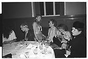 Boris Johnson, Sultans Ball. Oxford Town Hall, March 1986