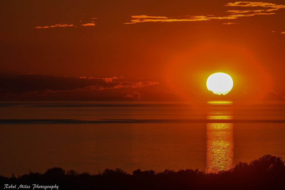 Lake Michigan Ball Of Fire About To Be Extinguished