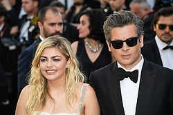 Louane, Benjamin Biolay attending the Ouverture / Les Fantomes d'Ismael premiere during the 70th Cannes Film Festival on May 17, 2017 in Cannes, France. Photo by Julien Zannoni/APS-Medias/ABACAPRESS.COM