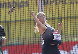 July 10, 2018 - Tampere, Suomi Finland - 180710 Friidrott, Junior-VM, Dag 1: Grace Tennant, CAN competes in XXX during the IAAF World U20 Championships day 1 at the Ratina stadion 10. July 2018 in Tampere, Finland. (Newspix24/Kalle Parkkinen) (Credit Image: © Kalle Parkkinen/Bildbyran via ZUMA Press)