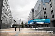 Belgie, Brussel, 28-7-2011Gebouw van het Europees parlement. Het Parlamentarium, waar informatie en voorlichting over de unie aangeboden wordt.Foto: Flip Franssen/Hollandse Hoogte