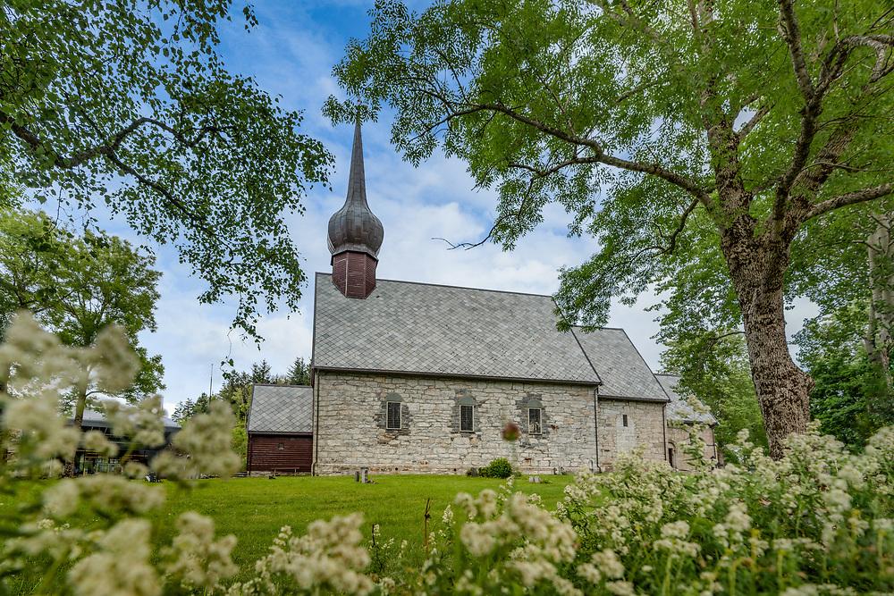 Alstahaug kirke er en middelalderkirke av sten, på øya Alsten, sør for Sandnessjøen i Nordland. Kirka ble oppført på 1100- eller 1200-tallet, av lokal hogd kleberstein.