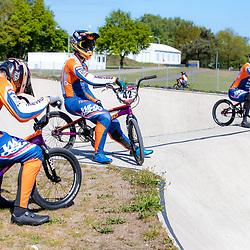 05-05-2020: Wielrennen: BMX KNWU: Papendal <br />Trainen in Coronatijd