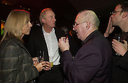 Hilary Heath,  Charles Dance and Clive James. For One Night Only...Fundraiser For the South Bank Centre. Purcell Room, Royal Festival Hall.4 December  2005. ONE TIME USE ONLY - DO NOT ARCHIVE  © Copyright Photograph by Dafydd Jones 66 Stockwell Park Rd. London SW9 0DA Tel 020 7733 0108 www.dafjones.com