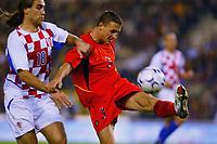 Fotball<br /> EM-kvalifisering<br /> 10.09.2003<br /> Belgia v Kroatia<br /> NORWAY ONLY<br /> Foto: Phot News/Digitalsport<br /> <br /> DADO PRSO / TIMMY SIMONS