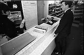 1966 - Interior of Farren's shoe Store, Parnell Street, Dublin