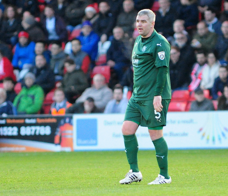 Tranmere Rovers' Steve McNulty<br /> <br /> Photographer Andrew Vaughan/CameraSport<br /> <br /> Vanarama National League - Lincoln City v Tranmere Rovers - Saturday 17th December 2016 - Sincil Bank - Lincoln<br /> <br /> World Copyright © 2016 CameraSport. All rights reserved. 43 Linden Ave. Countesthorpe. Leicester. England. LE8 5PG - Tel: +44 (0) 116 277 4147 - admin@camerasport.com - www.camerasport.com