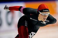 13-11-2009 schaatsen world cup heerenveen - harvard bokko wordt tweede op de 1500 meter