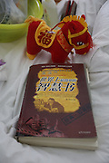WUHAN, CHINA - APRIL 02: (CHINA OUT) <br /> <br /> 7-year-old Boy Donates Kidney To His Mother After he Died<br /> <br /> The image shows Chen Xiaotian\'s favorite book and toy on April 2, 2014, in Wuhan, Hubei Province of China. Chen Xiaotian, a 7-year-old boy died from malignant brain tumors at 4 a.m. on April 02, 2014. He donated his left kidney to his mother Zhou Lu who suffered from uremia and can only cured by a kidney transplant. Chen was diagnosed with malignant brain tumor when he was five-and-a-half years old and has lost his vision in both eyes early this year due to the exacerbation of his brain tumors. Chen also donated his right kidney to a 21-year-old woman and his liver to a 27-year-old man. The operation was both completed on Wednesday. <br /> ©Exclusivepix
