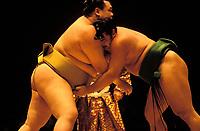 Sumo tournament, Japan