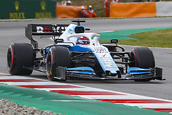 May 11, 2019 - Barcelona, Catalonia, Spain - Williams Mercedes driver George Russell (63) of Great Britain during F1 Grand Prix free practice celebrated at Circuit of Barcelona 11th May 2019 in Barcelona, Spain. (Credit Image: © Mikel Trigueros/NurPhoto via ZUMA Press)