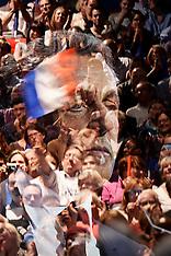 Paris: Nicolas Sarkozy Campaigns For French Conservative Presidential Primary, 9 Oct. 2016