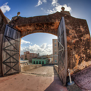 Fort San Cristobal in Old San Juan, Puerto Rico, March 21, 2011.