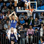 Efes Pilsen's show during their Turkish Airlines Euroleague Basketball Top 16 Group G Game 4 match Efes Pilsen between Real Madrid at Sinan Erdem Arena in Istanbul, Turkey, Thursday, February 17, 2011. Photo by TURKPIX