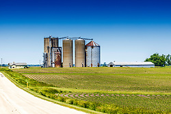 29 May 2021:   Fletcher Elevator in Rural McLean County Illinois