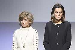 November 22, 2018 - Madrid, Madrid, Spain - Queen Letizia of Spain attends 10th anniversary of 'Integra BBVA Awards' at BBVA city on November 22, 2018 in Madrid, Spain (Credit Image: © Jack Abuin/ZUMA Wire)