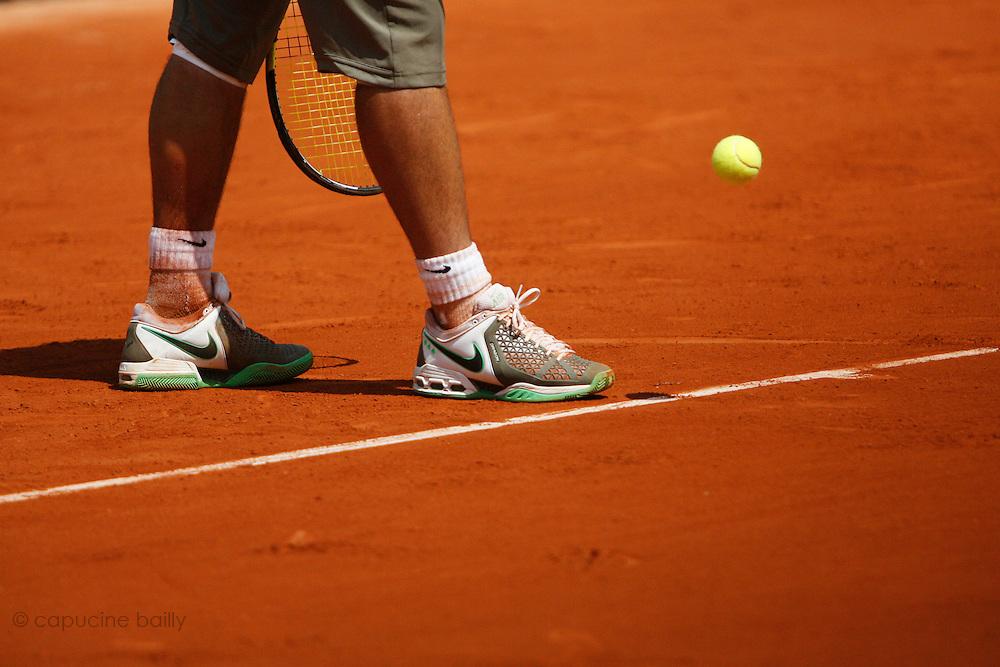 Friday May 30th 2008. Roland Garros. Paris, France..Rafael NADAL against Jarkko NIEMINEN. .Tennis French Open. 3rd Round...