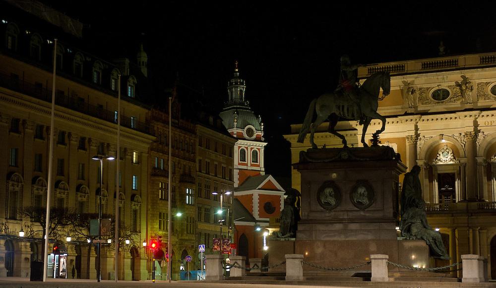 Jakobs Kyrkan behind Gustav Adolfs Torg
