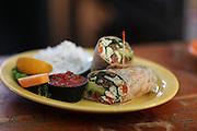 Healthy Vegetable Wrap
