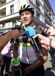 July 18, 2017 - Romans-Sur-Isere, France - ROMANS-SUR-ISERE, FRANCE - JULY 18 : BOASSON HAGEN Edvald of Dimension Data  during stage 16 of the 104th edition of the 2017 Tour de France cycling race, a stage of 165 kms between Le Puy-en-Velay and Romans-Sur-Isere on July 18, 2017 in Romans-Sur-Isere, France, 18/07/2017 (Credit Image: © Panoramic via ZUMA Press)