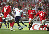 FOTBALL, 10 AUGUST 2004, LISBOA BENFICA - ANDERLECHT, CHAMPIONS LEAGUE PRELIMINARY ROUND 3 FIRST LEG, <br /> MBO MPENZA<br /> PICTURE PHILIPPE CROCHET, DIGITALSPORT