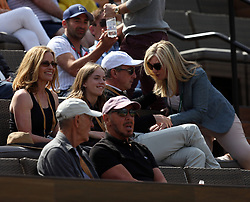 March 9, 2019 - Indian Wells, California, United States Of America - INDIAN WELLS, CALIFORNIA - MARCH 09:  Larry Ellison who is a co-founder and the executive chairman and chief technology officer of Oracle Corporation and actress Elisabeth Shue attend  the men's singles second round match on day six of the BNP Paribas Open at the Indian Wells Tennis Garden on March 09, 2019 in Indian Wells, California..People: Larry Ellison, Elisabeth Shue. (Credit Image: © SMG via ZUMA Wire)