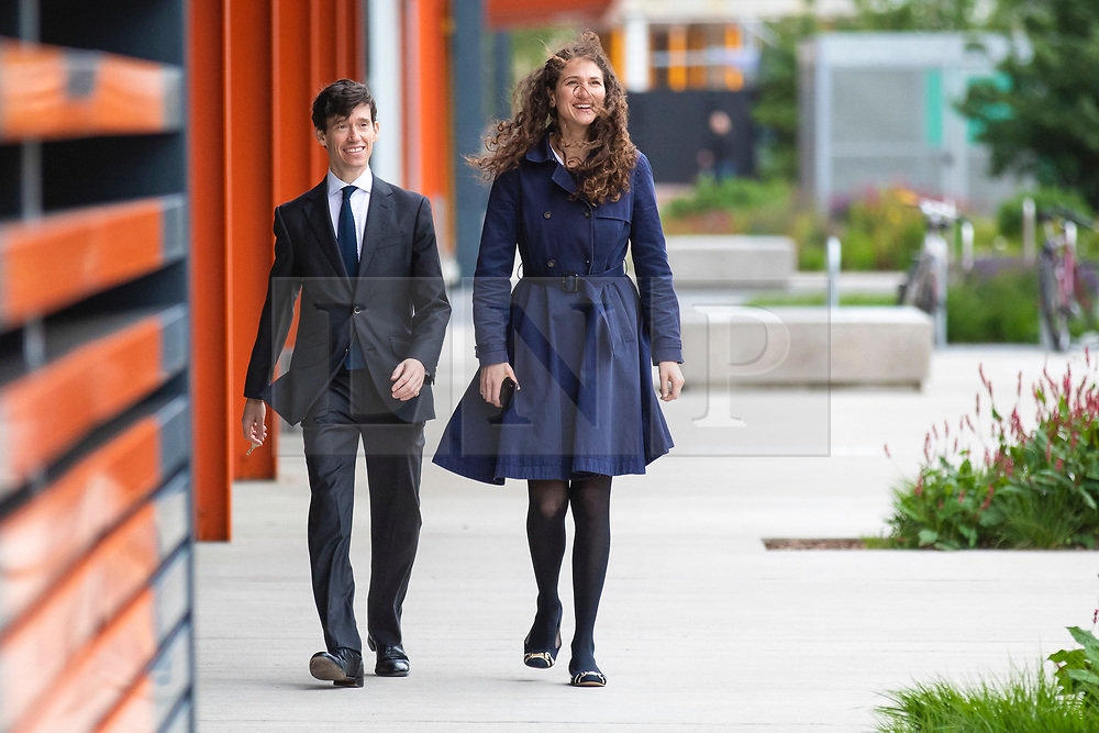 © Licensed to London News Pictures. 16/06/2019. London, UK. Rory Stewart (L) and his wife Shoshana Clark (R) arrive for the first televised debate between Conservative Party leadership contenders. Frontrunner Boris Johnson has said that he will not take part in the Channel 4 debate. Photo credit: Rob Pinney/LNP