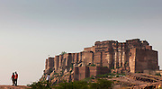 jodhpur Rajasthan - The Mehrangarh Fort - Citadel of the Sun - India 2011