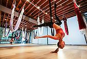 Seun Lim of D&A Flying Yoga.