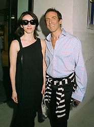 Designer BEN DE LISI and MISS DEBBIE LOVEJOY  at a party in London on 13th May 1997.LYG 40