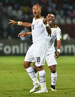 Andre Ayew - Mubarak Wakaso ( Ghana )  Joie