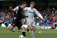 Photo: Paul Greenwood.<br />Tranmere Rovers v Swansea City. Coca Cola League 1. 10/03/2007.<br />Tranmere's Chris Greenacre (R) challenges, Pawel Abbott
