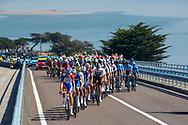 Peloton during the Tour de France 2018, Stage 1, Noirmoutier -en-l'île - Fontenay-le-Comte (201km) on July 7th, 2018 - Photo Luca Bettini / BettiniPhoto / ProSportsImages / DPPI