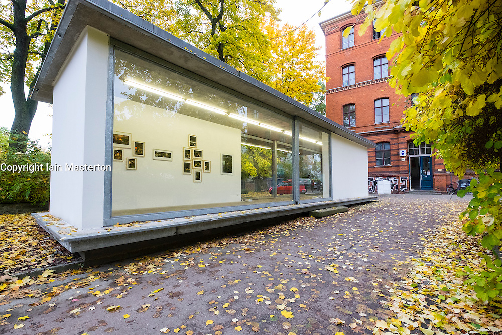 Art gallery Pavilion at Milchhof art complex in Prenzlauer Berg Berlin Germany