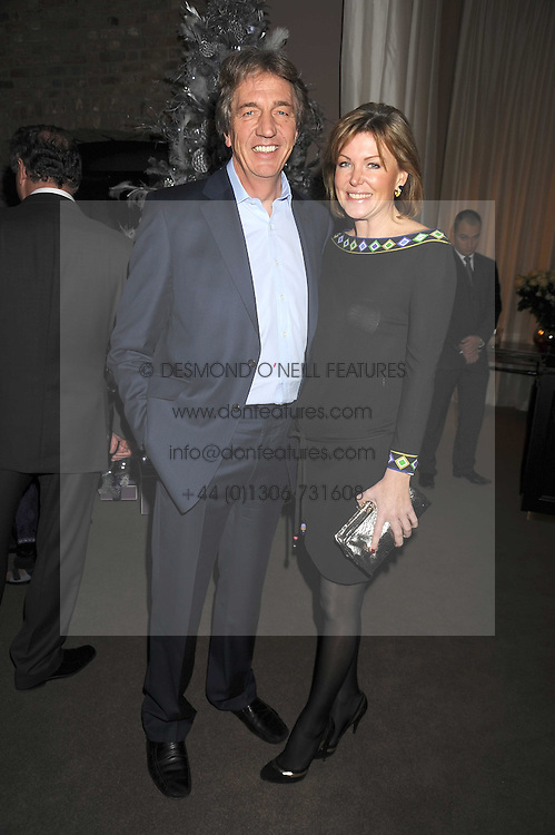 NICK COOK and EIMEAR MONTGOMERIE at the Asprey Winter Wonderland party held at their store, 167 New Bond Street, London on 4th December 2008.