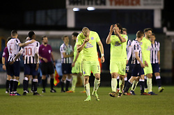 Marcus Maddison of Peterborough United cuts a dejected figure at full-time - Mandatory by-line: Joe Dent/JMP - 28/02/2017 - FOOTBALL - The Den - London, England - Millwall v Peterborough United - Sky Bet League One