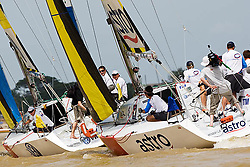 2008 Monsoon Cup. First round robins. Ben Ainlie and Adam Minoprio (Thursday  4rd December 2008). .