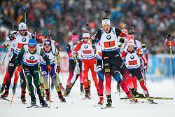 March 16, 2019 - –Stersund, Sweden - 190316 Lars Helge Birkeland of Norway competes in the Men's 4x7,5 km Relay during the IBU World Championships Biathlon on March 16, 2019 in Östersund..Photo: Johan Axelsson / BILDBYRÃ…N / Cop 245 (Credit Image: © Johan Axelsson/Bildbyran via ZUMA Press)