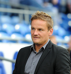 AFC Wimbledon Manager Neal Ardley - Mandatory by-line: Paul Knight/JMP - Mobile: 07966 386802 - 11/08/2015 -  FOOTBALL - Cardiff City Stadium - Cardiff, Wales -  Cardiff City v AFC Wimbledon - Capital One Cup