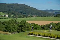 WISSMANNSDORF  - Duitsland - tee hole 1  Golf-Resort Bitburger Land. COPYRIGHT KOEN SUYK