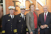 l to r: Chief McNally, Chief Cassano, Denis Leary, and Nicholas Scoppetta  at The Leary FireFighters Foundation dedicates High-Rise Simulator in New York City at The FDNY Training Academy on Randall's Island on March 19, 2009..The Leary Firefighters Foundation, in partnership with The FDNY Foundation dedicates a state-of-art High Rise Training Simulation Facility. The first and only of its in the kind in the country, the simulator will help firefighters improve their skills in combating the difficulties of fighting fires in high-rise buildings, performing rescues, and saving lives under extreme conditions.