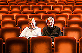 Randall Arney and Gil Cates Jr of Geffen Playhouse