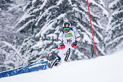 Broisin Jordan  of France during Slalom race at 2019 World Para Alpine Skiing Championship, on January 23, 2019 in Kranjska Gora, Slovenia. Photo by Matic Ritonja / Sportida