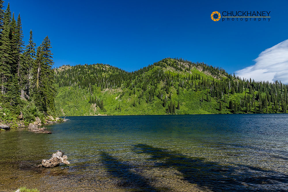 Wildcat Lake in the Jewel Basin Hiking Area of Flathead National Forest, Montana, USA