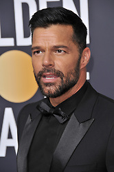 Ricky Martin at the 75th Golden Globe Awards held at the Beverly Hilton in Beverly Hills, CA on January 7, 2018.<br /><br />(Photo by Sthanlee Mirador)