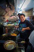 Sam Choy, Poke, Food Truck, Hukilau Marketplace. Polynesian Cultural Center, Laie, Oahu, Hawaii