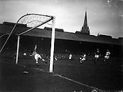 25/09/1957<br /> 09/25/1957<br /> 25 September 1957<br /> European Cup tie: Shamrock Rovers v Manchester United at Dalymount Park, Dublin.