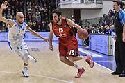 DESCRIZIONE : Eurocup 2015-2016 Last 32 Group N Dinamo Banco di Sardegna Sassari - Cai Zaragoza<br /> GIOCATORE : Joan Sastre<br /> CATEGORIA : Palleggio Penetrazione<br /> SQUADRA : Cai Zaragoza<br /> EVENTO : Eurocup 2015-2016<br /> GARA : Dinamo Banco di Sardegna Sassari - Cai Zaragoza<br /> DATA : 27/01/2016<br /> SPORT : Pallacanestro <br /> AUTORE : Agenzia Ciamillo-Castoria/L.Canu
